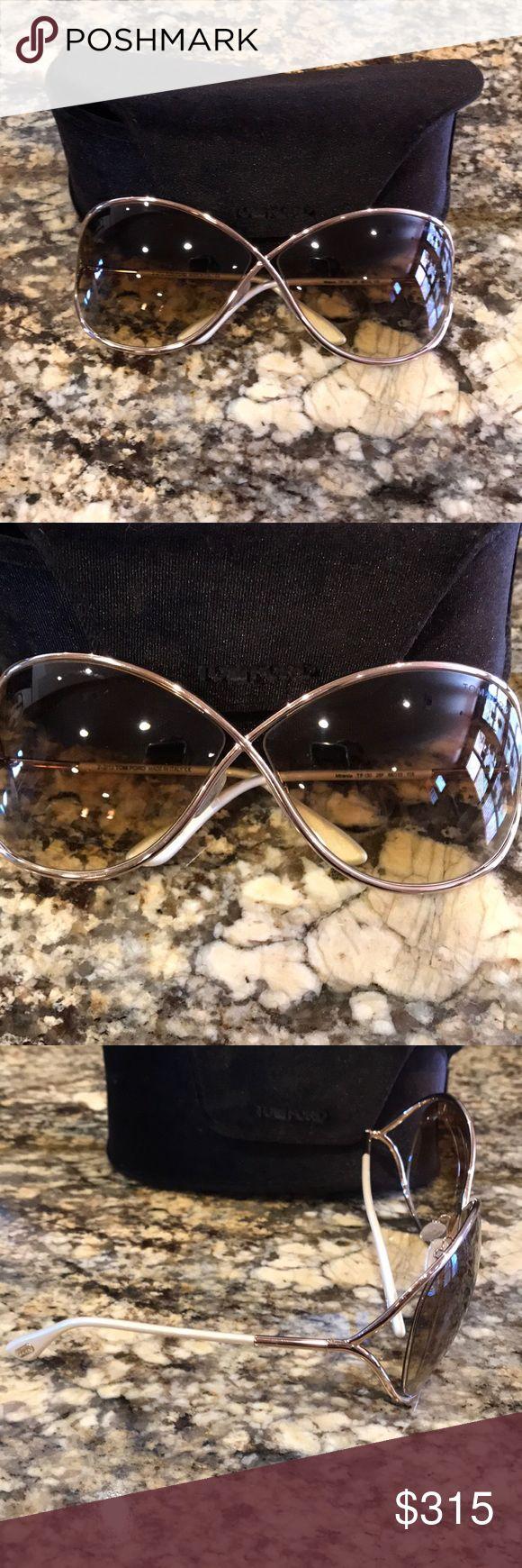 Tom Ford Gd Miranda Sunglasses Tom Ford Gold Miranda Sunglasses Tom Ford Accessories Sunglasses