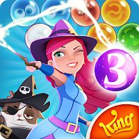 Bubble Witch 3 Saga 3.0.3 MOD APK  games puzzle