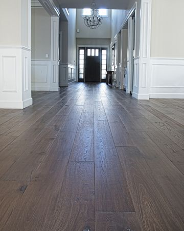 National Hardwood Flooring's French Galerie Deep Smoke Oak Engineered Flooring