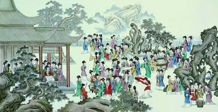 One Hundred Beauties 一百年美女 (1952×1000):