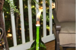 How to Make a Tiki Torch Wick | eHow