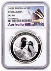 ♠♧ 2013-P #Australia 1 oz Silver Kookaburra $1 NGC MS68 Exclusive Label SK... Buy now! http://ebay.to/2xaMsKr