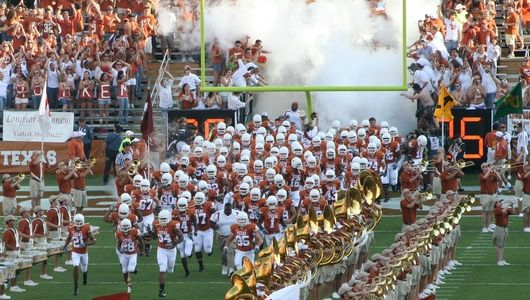 I want to watch a longhorn game from the sidelines someday