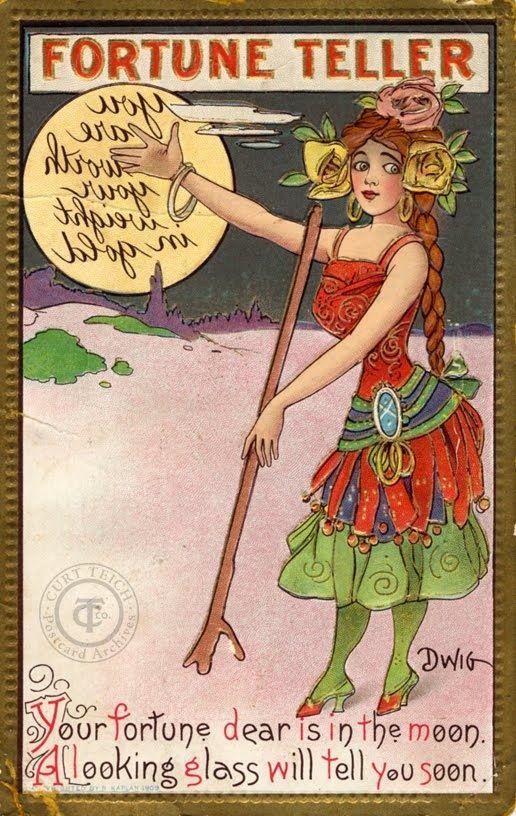 Fortune Teller- Clare Victor Dwiggins
