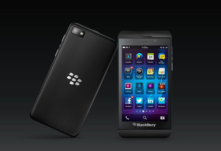 TOP 10 smartphones of 2013 - blackberry Z10 touchscreen smartphone