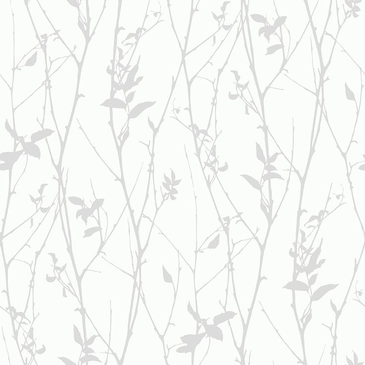 Spring Tree Silver wallpaper by Eco Wallpaper