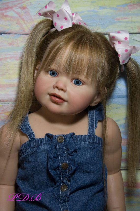 Perla Custom Order (Be creative! Create a OOAK Perla with all of your own details!)      ☆Reborn Toddler 35 Perla sculpt by Jannie De Lange