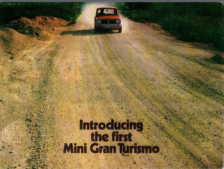 Mini Gran Turismo 4 Sided brochure 1970 (C5)