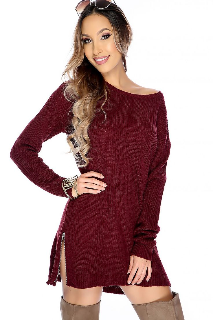 147 best Cute Sweater Dresses! images on Pinterest | Beautiful ...