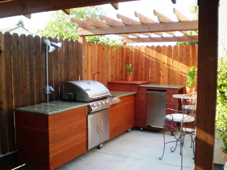 Cool Outdoor Barbeque Area Ideas   Real House Design