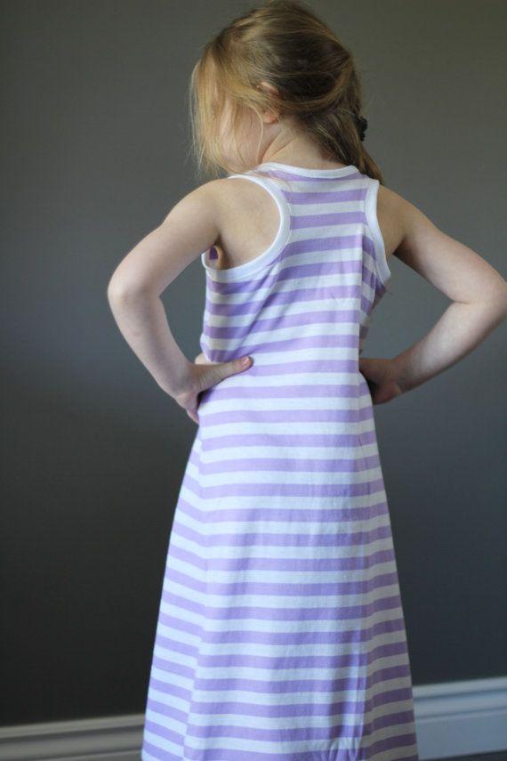 Racerback maxi dress tutorial