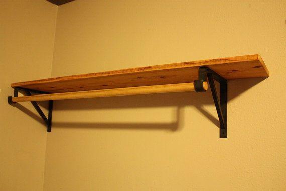 Wooden Closet Rod Support Brackets Free Shipping Within The Usa Theart Wooden Closet Closet Rod Shelves