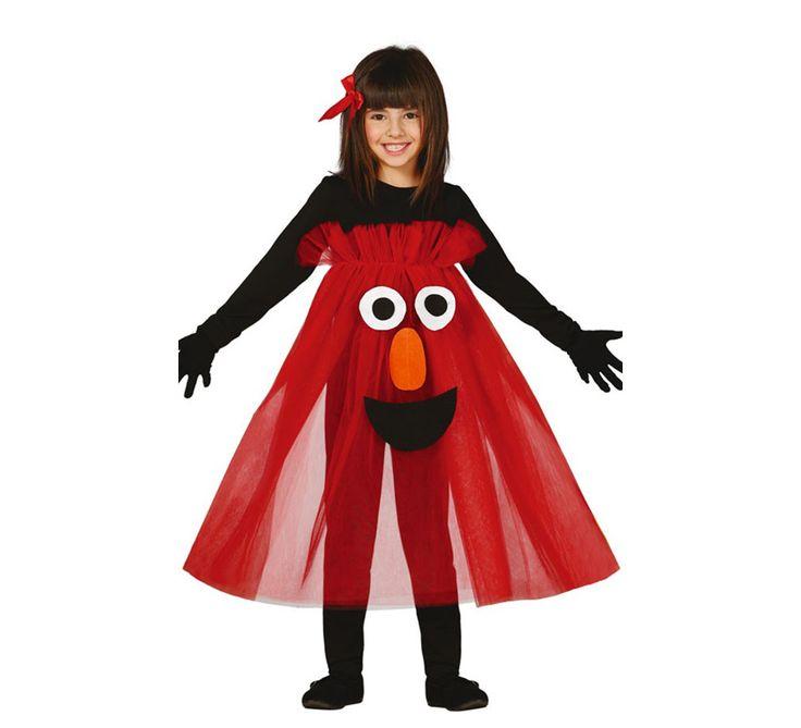 Disfraz de Monstruo tutú rojo en varias tallas
