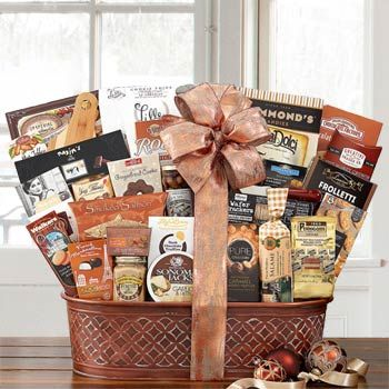 202 best healthy gift baskets images on pinterest basket gift executive gift basket negle Choice Image