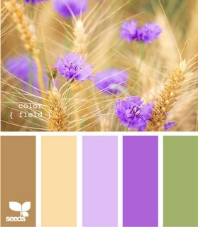 Color Field Palette At Design Seeds Maybe Lavendar As An Accent