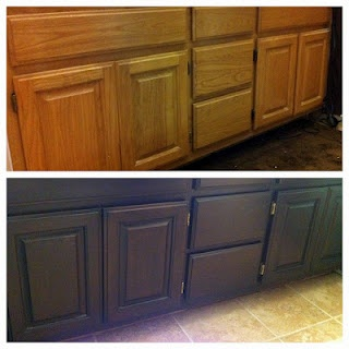 11 best images about cabinet refinish on pinterest oak for Save wood kitchen cabinet refinishers