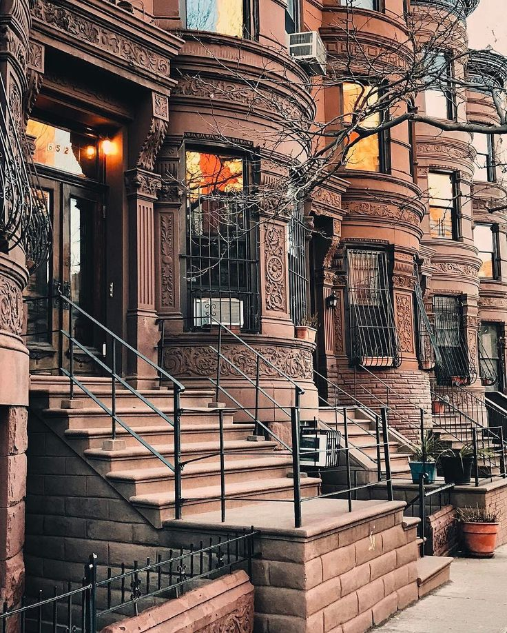 Harlem Brownstones