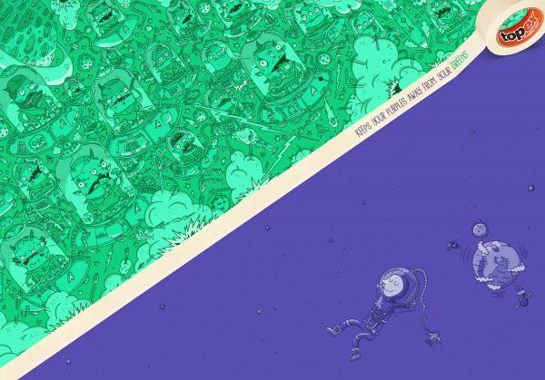 ALIENS VS EARTH, Y&R Bogota, Homecenter, Print, Outdoor, Ads