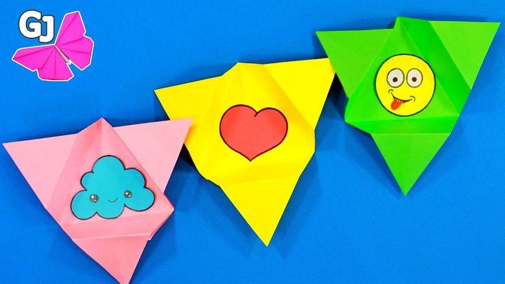 Конверты с сюрпризом! Оригами из бумаги.