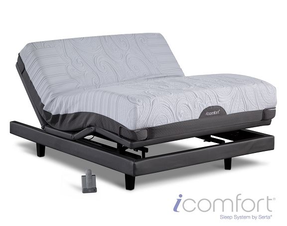 The Icomfort Savant Everfeel Adjule Mattress Collection Is High Quality Bedding