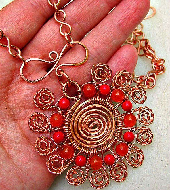 45 best WIRE BAILS images on Pinterest | Wire jewelry, Jewelery and ...