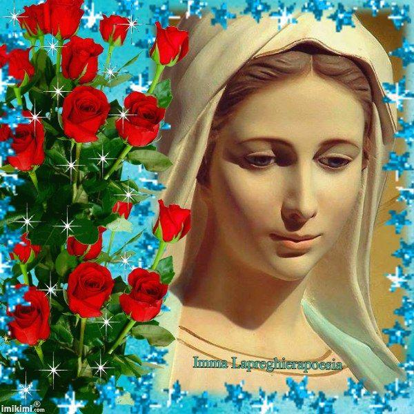 Maria rosa del giardino di Dio