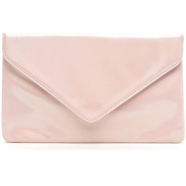 Light It Up Shiny Envelope Clutch ❤ liked on Polyvore featuring bags, handbags, clutches, pink handbags, pink purse, pink envelope clutch, pink clutches and envelope clutch bags