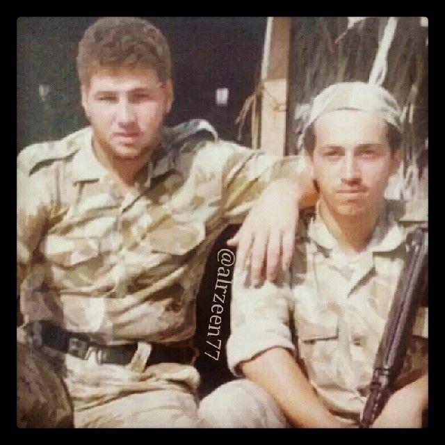 Marwan MRM, servicio militar, 1990  Vía: alrzeen77