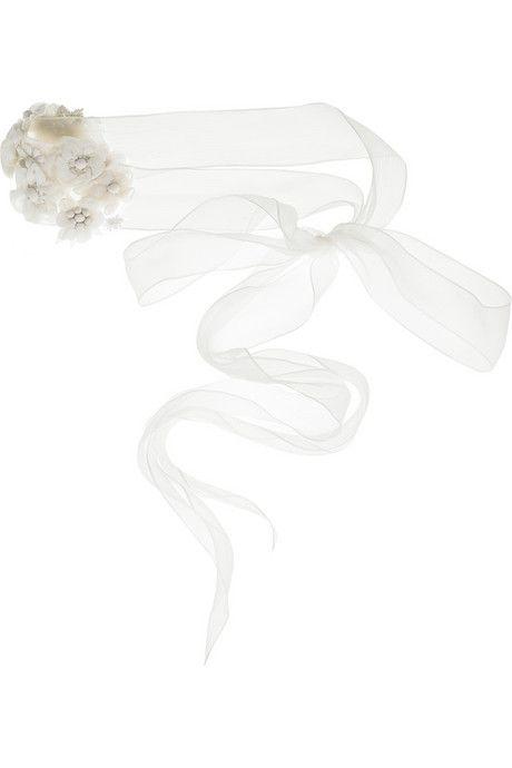Lela Rose Silk floral-embellished belt- Accessories Trends