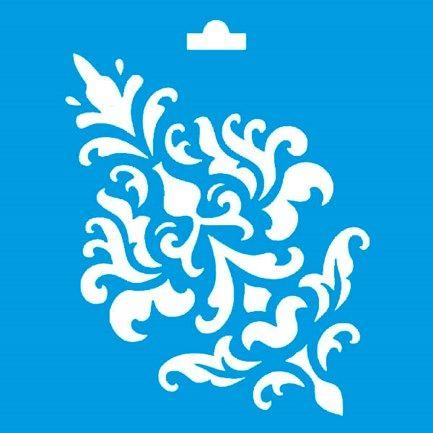 Stencil arabescos buscar con google typo pinterest - Moldes para pintar paredes ...