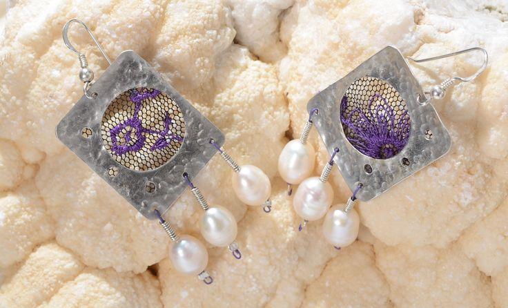 """""""Frolics"""" These earrings remind me of women and their playful nature...!"""