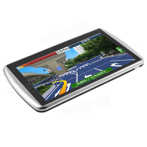 7Inch Car GPS Navigation HD TFT LCD Touch Screen Free 3D Map Win CE6.0 For Russia Canada Europe USA Australia Sale - Banggood.com