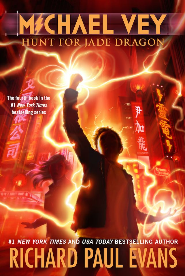 michael vey | The Michael Vey 4 Book Cover is Revealed, Hunt for Jade Dragon