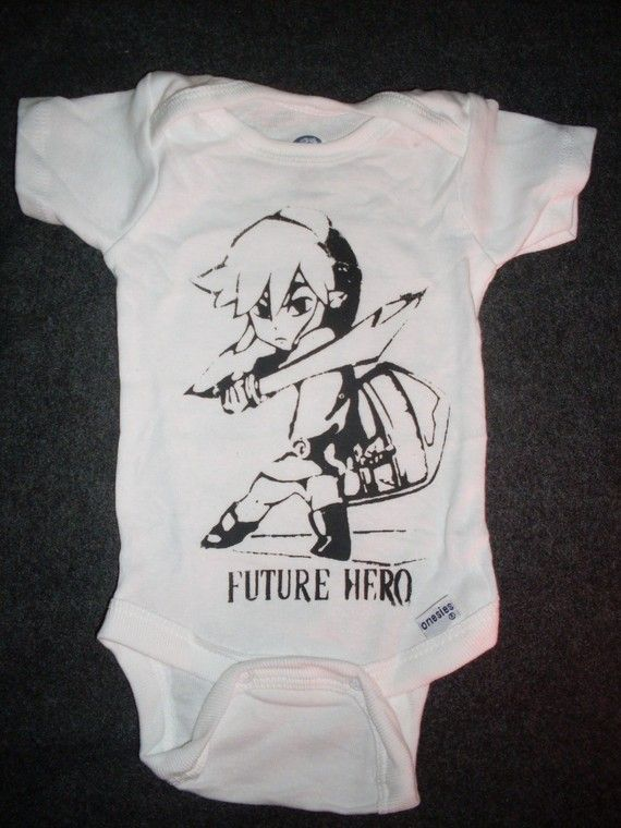 i wish i could have worn cool stuff like this when i was baby sized :)