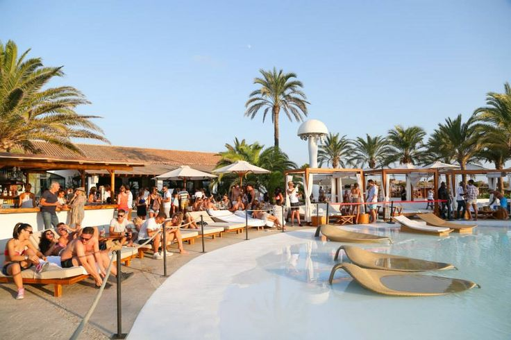 Poolside parties at Destino Ibiza