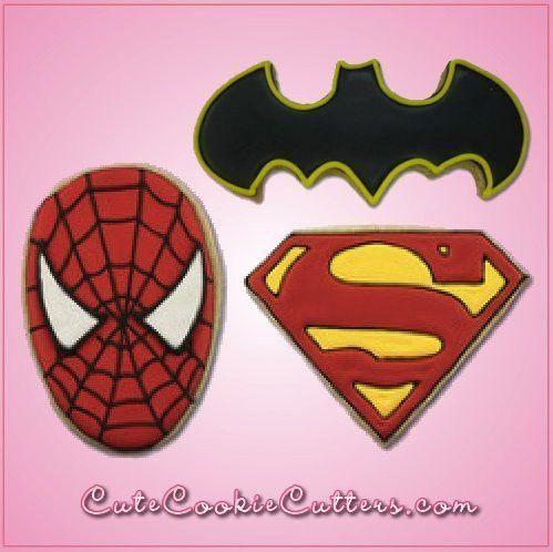 Spider Man Cookie Cutter