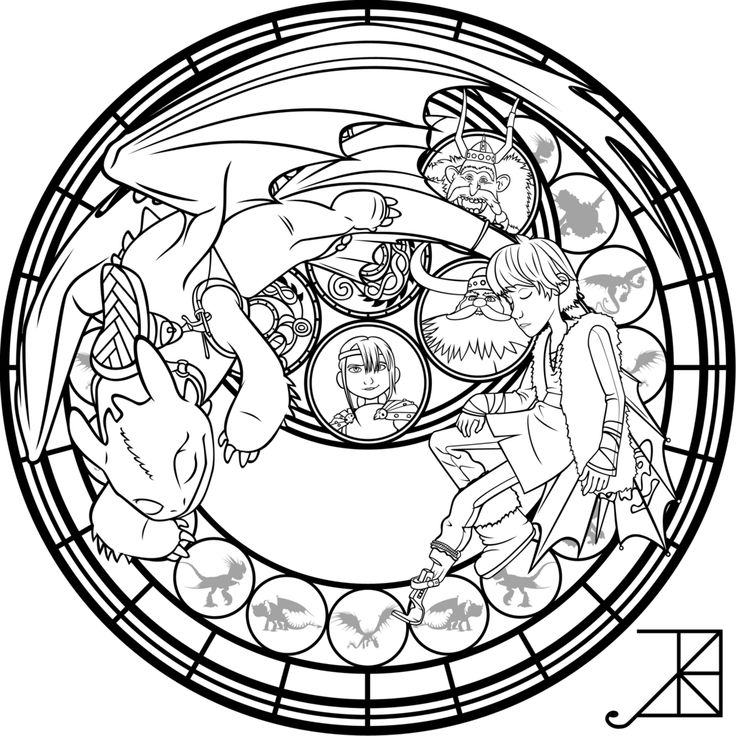 SG: Hiccup: coloring page by Akili-Amethyst.deviantart.com