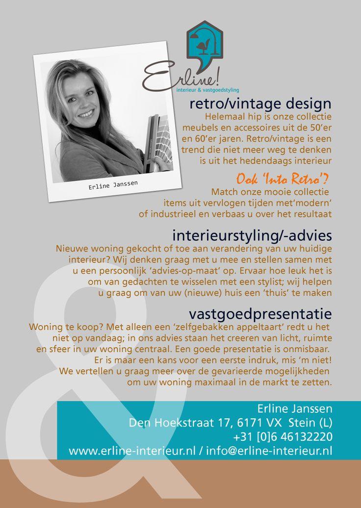 Erline Janssen is oprichter & eigenaar van Erline! interieur ...