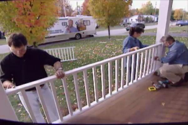 Learn how to build and install porch railing; includes details on an assembly jig as well as construction tips, materials, and tools lists.