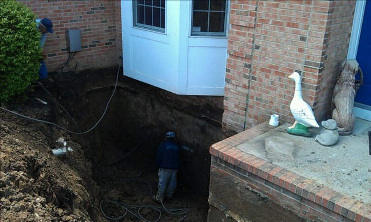 62 best images about house tips on pinterest homemade for Foundation drainage solutions