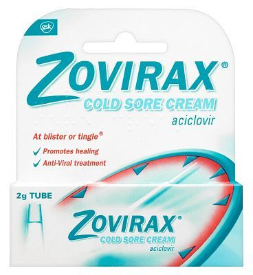 Zovirax Cold Sore Cream - 2g Tube 10041592 16 Advantage card points. Zovirax Cold Sore Cream. At blister or tingle, promotes healing. Anti-Viral treatment. See details below, always read the labelSuitable for: Adults and childrenActive ingredi http://www.MightGet.com/february-2017-1/zovirax-cold-sore-cream--2g-tube-10041592.asp