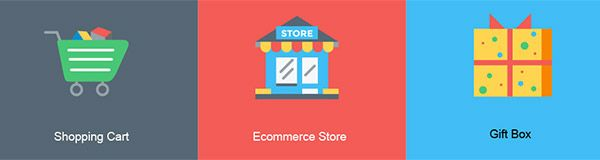 Free Shopping Cart Payment and Other E-commerce Icons  DevelopmentDesign Designmodo
