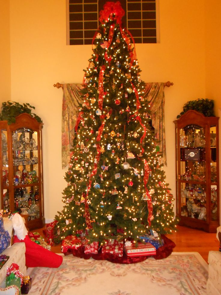 Our 12 foot Christmas tree!