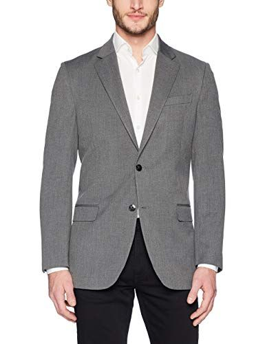 c5aa0f98c19f9 Nautica Men's Bi-Stretch Slim Fit. Suit Separate (Blazer and Pant ...