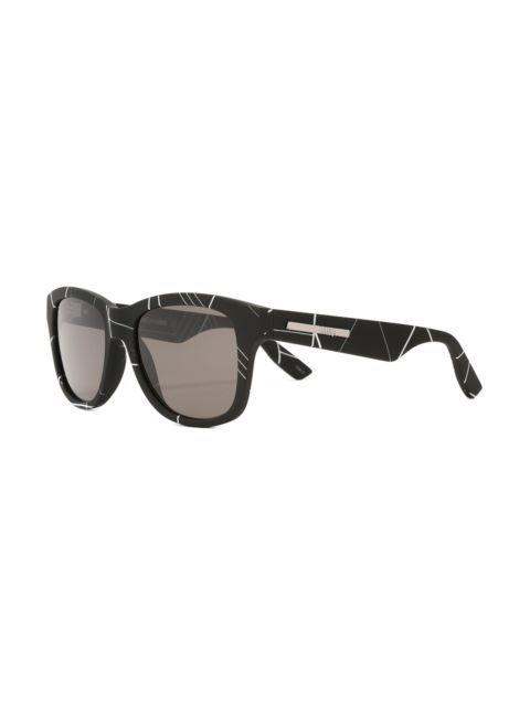McQ Alexander McQueen Linear Angle print sunglasses