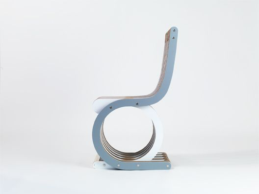 Thinking to a sailing boat...Twist Chair by Lessmore - design Giorgio Caporaso