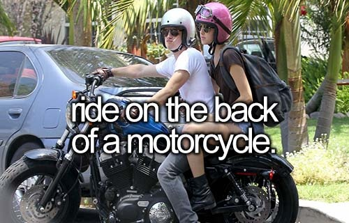 Ride on the Back of a  REAL Motorcycle | So fast the broken lines on the road become one. DONE.