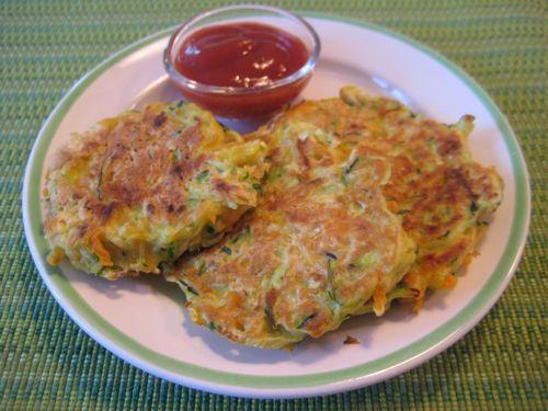Veggie pancakes!
