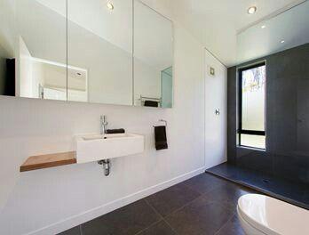 Simple bathroom
