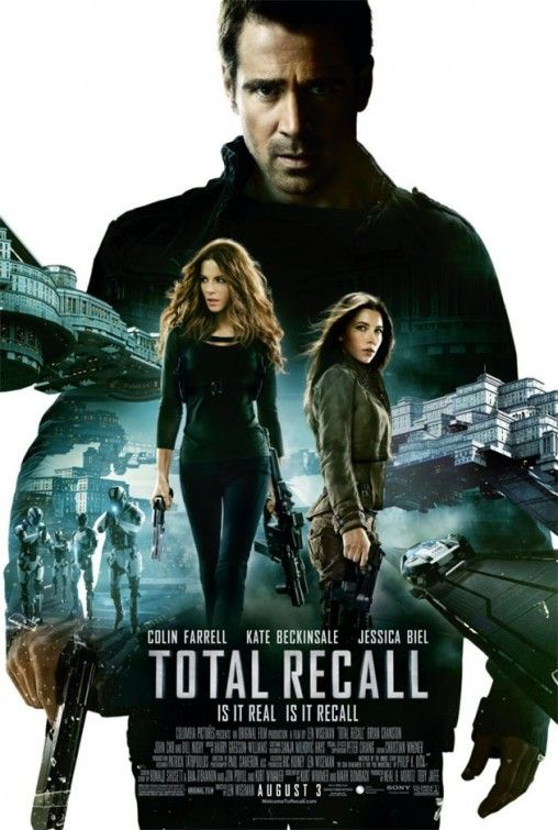 Tons of crazy action sequences and awesome special effects make Total Recall worth checking out. Is it a great movie in terms of script and character development? No. However, Is it full of non-stop action and super enjoyable to watch.